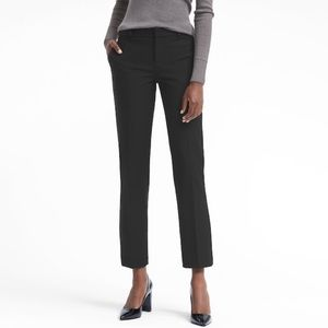 Avery Straight-Fit Washable Bi-Stretch Ankle Pant